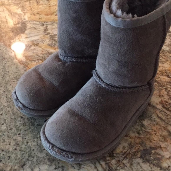 Kids gray UGG boots, size 12